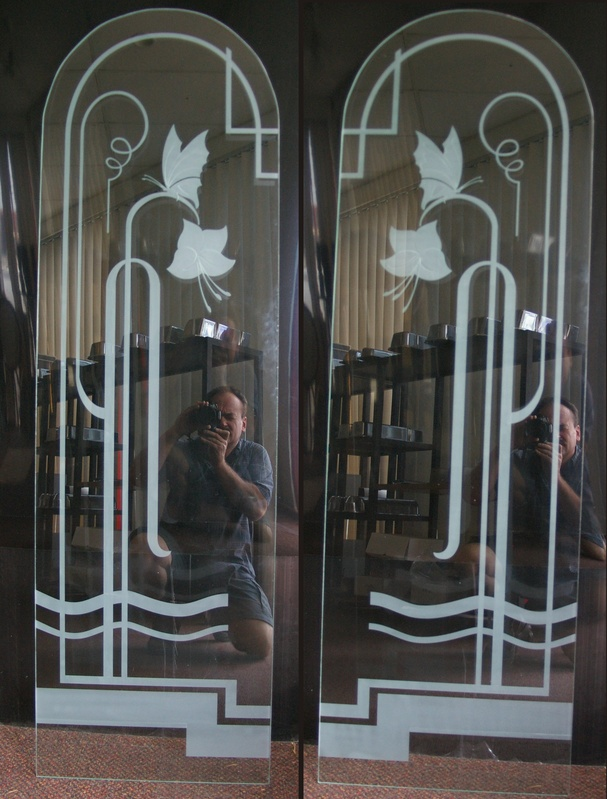 Art Deco French Doors